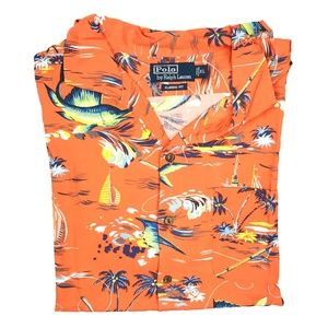 Polo by Ralph Lauren Hawaiian Short Sleeve Shirt